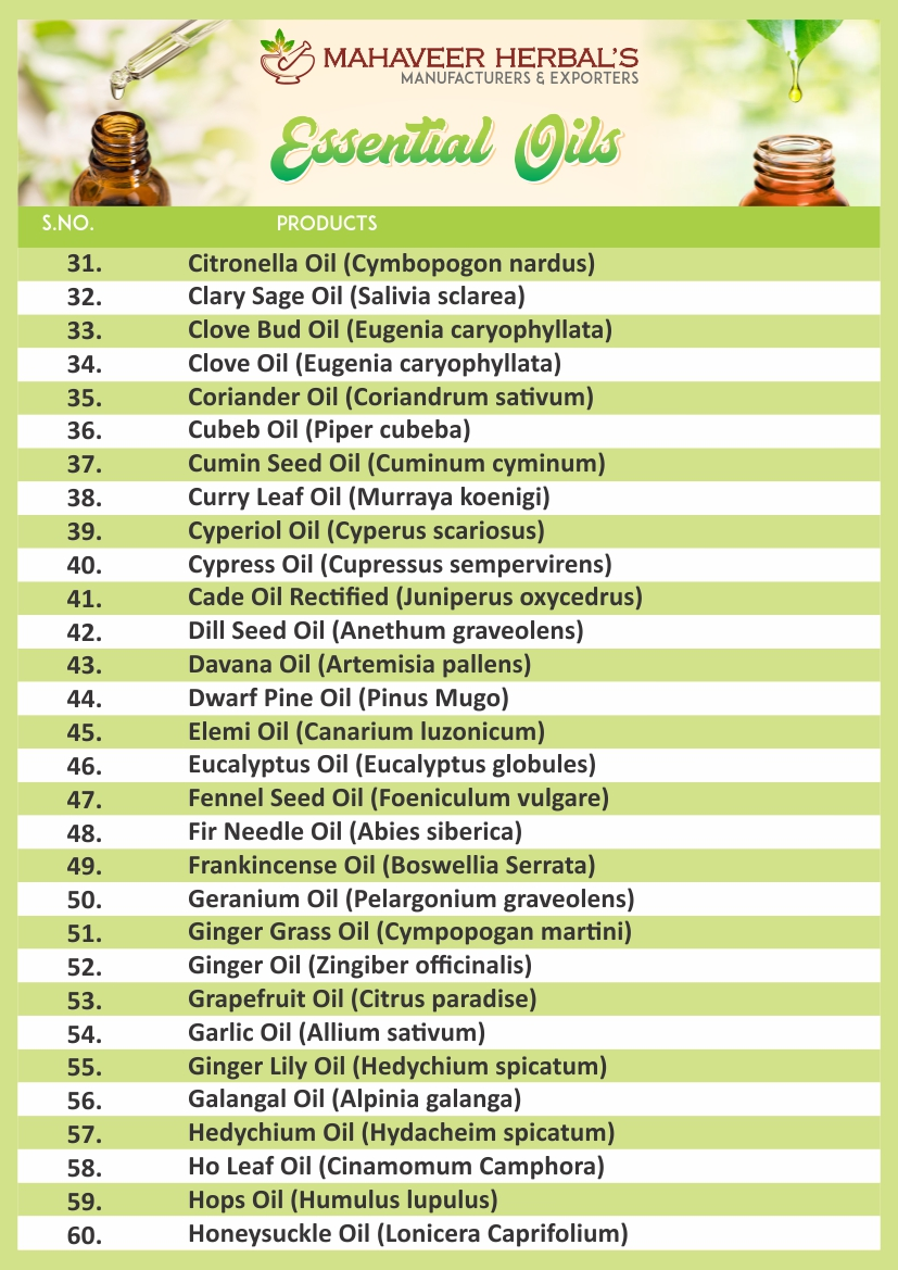 Essential Oil Page 02