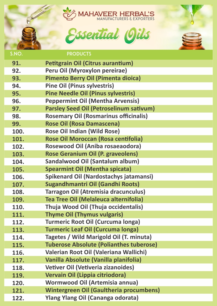 Essential Oil Page 04